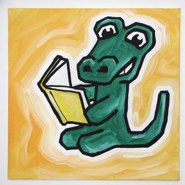 reading alligator