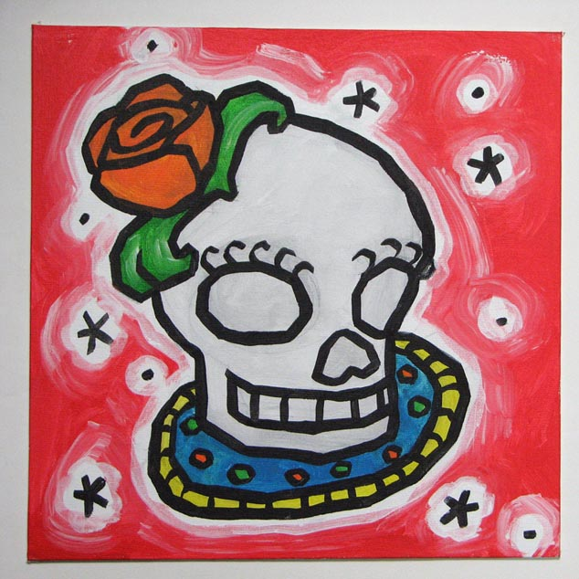 day of dead skull. Day Of The Dead Skull