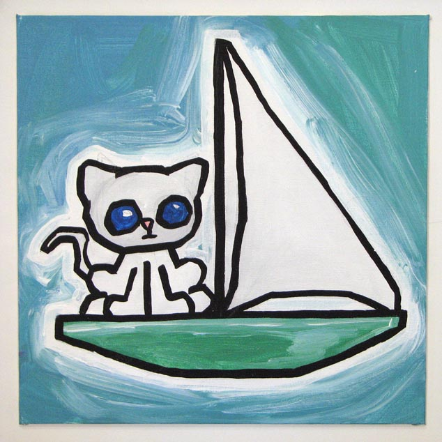 sailboat cat