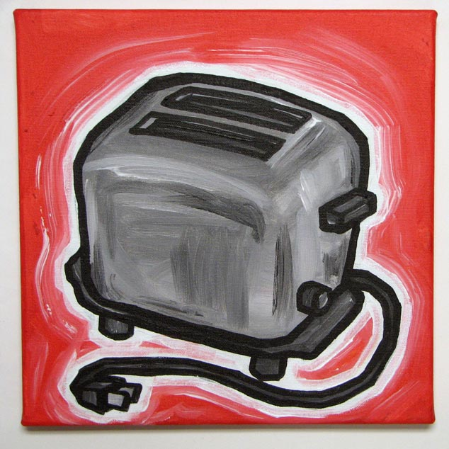 Bread Toaster Drawing Toaster