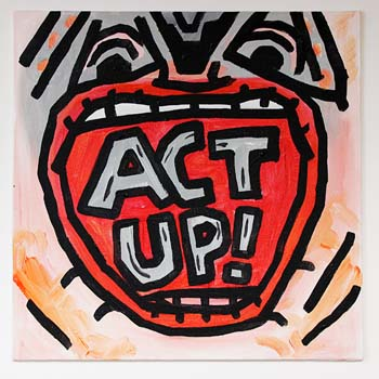 Act Up Graffiti
