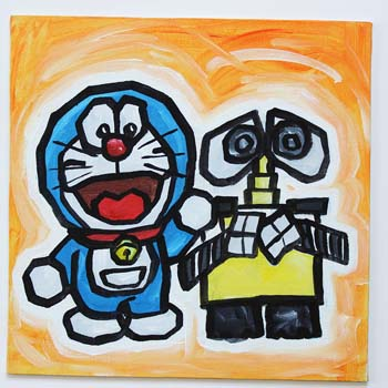 Doraemon And Wall-E