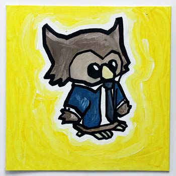 Owl In Business Suit