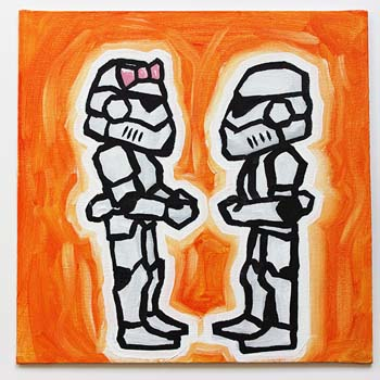 Stormtrooper Couple