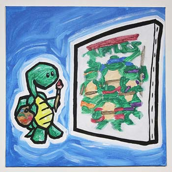Turtle Painting Teenage Mutant Ninja Turtles